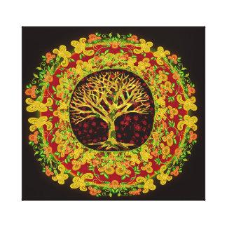 Tree of Life Constant Change Canvas Prints