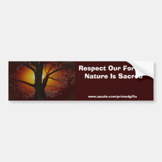 TREE OF LIFE Earth Day Gift Series Bumper Sticker