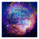 Tree of Life Healing Posters