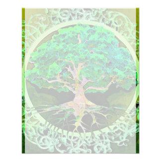 Tree of Life Health and Prosperity 11.5 Cm X 14 Cm Flyer