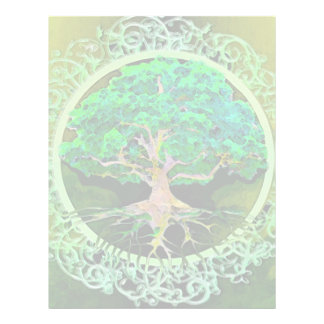 Tree of Life Health and Prosperity 21.5 Cm X 28 Cm Flyer