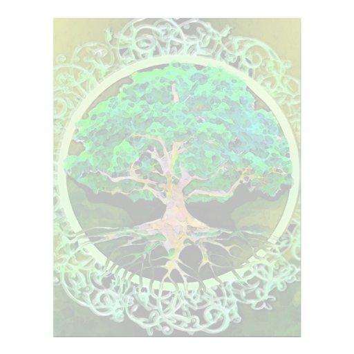 Tree of Life Health and Prosperity Custom Flyer