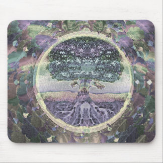 Tree of Life Health and Prosperity Mouse Mat