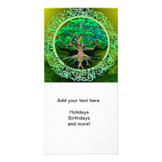 Tree of Life Health and Prosperity Customised Photo Card