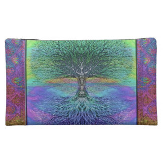Tree of Life Hope and Peace Makeup Bag