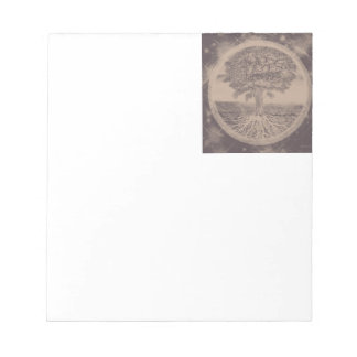 Tree of Life in Brown Notepads