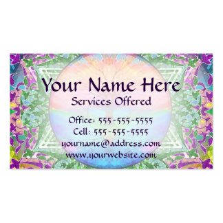 Tree of Life in Rainbow Colors Pack Of Standard Business Cards
