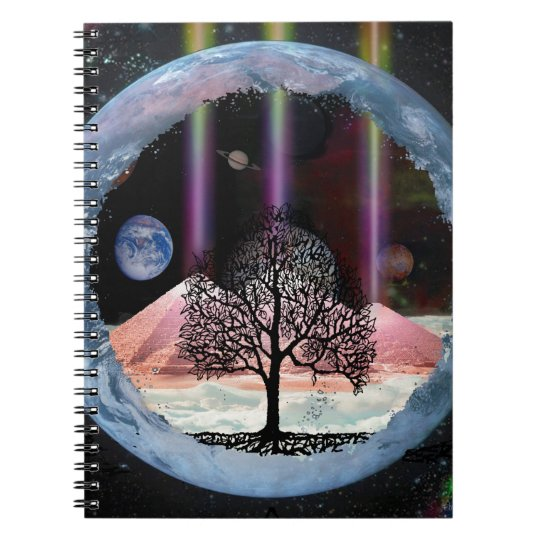 Tree of Life Inner Truth Spiral Notebook