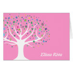Tree of Life Invite Thank You Card