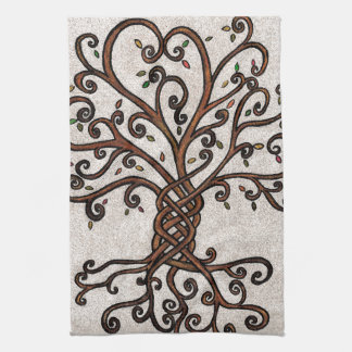 Tree of Life Kitchen Towel