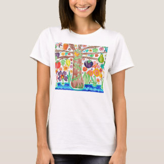 Tree of Life Ladies Fitted T-Shirt