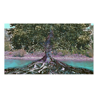 Tree of Life Lakes Edge Pack Of Standard Business Cards