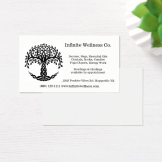 Tree of Life Metaphysical Bookstore Gifts Business Card