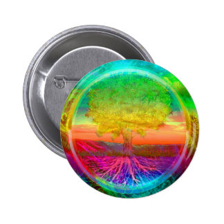 Tree of Life Miracles 6 Cm Round Badge