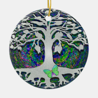 Tree of Life New Beginnings by Amelia Carrie Christmas Ornament