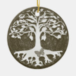Tree of Life New Beginnings by Amelia Carrie Christmas Tree Ornament