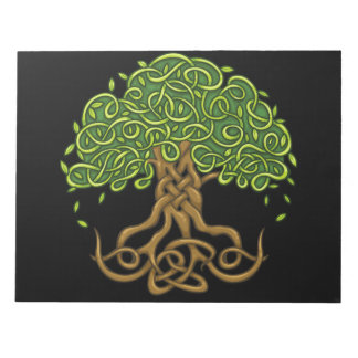 Tree of life Notebook Size: 20.3 cm x 27.9 cm (8.5 Notepad