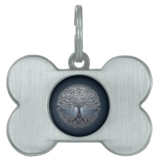 Tree of Life Nova Blue Pet Tag