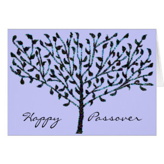 Tree of Life Passover Note Card