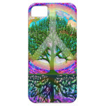 Tree of Life Peace iPhone 5 Case