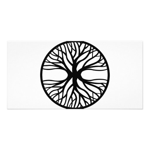 Tree Of Life Personalised Photo Card