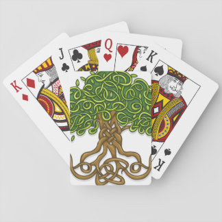 Tree of life playing cards