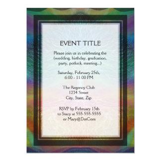 Tree of Life Rainbow Hearts 17 Cm X 22 Cm Invitation Card