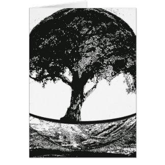Tree of Life Silence Greeting Card