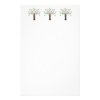 Tree of Life Simple Trees in Nature Genealogy Stationery