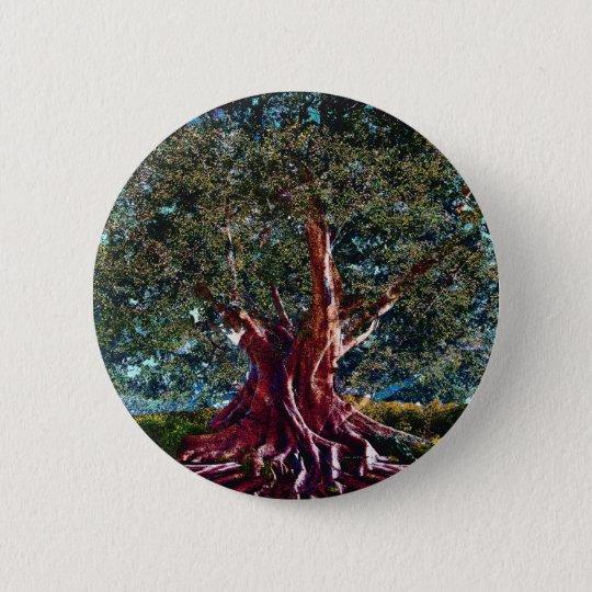 Tree of Life Stability 6 Cm Round Badge