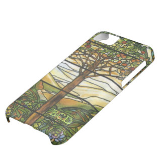 Tree of Life Stained Glass with Initials iPhone 5C Case