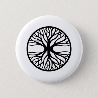 Tree Of Life Tattoo 6 Cm Round Badge
