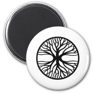 Tree Of Life Tattoo 6 Cm Round Magnet