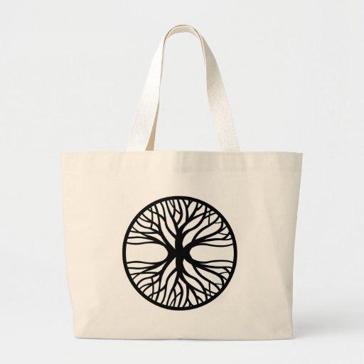 Tree Of Life Tattoo Jumbo Tote Bag
