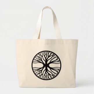 Tree Of Life Tattoo Large Tote Bag