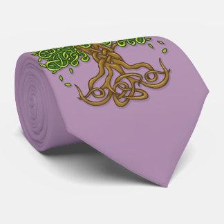 Tree of life Tie Lavender