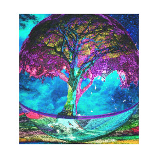 Tree of Life Truth Seeker Canvas Print