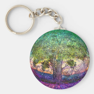 Tree of Life Truth Seeker Key Ring