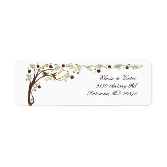 Tree of life (v) return address labels