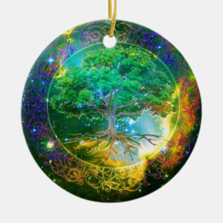 Tree of Life Wellness Christmas Ornament