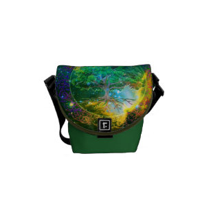 Tree of Life Wellness Messenger Bag