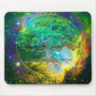 Tree of Life Wellness Mouse Mat
