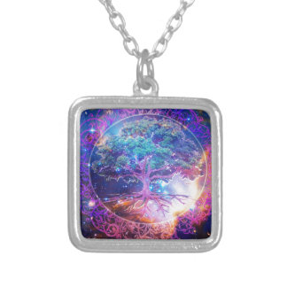 Tree of Life Wellness Silver Plated Necklace