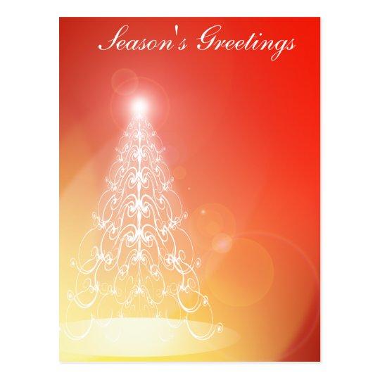 Tree of Light Postcard