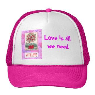 Tree of love cap