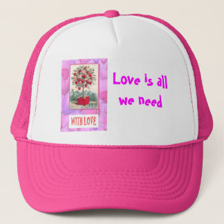 Tree of love trucker hat