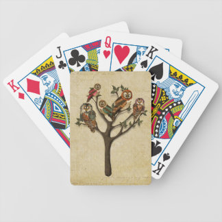 Tree of Owls Card Deck