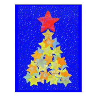 Tree of Stars postcard