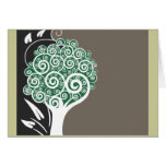 Tree of Swirls Card