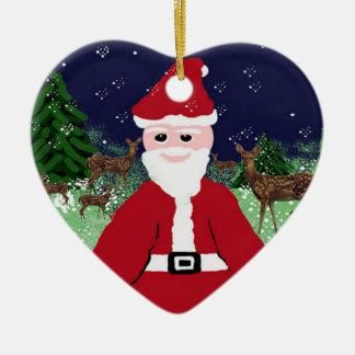 Tree Ornaments SantaClaus and Deer